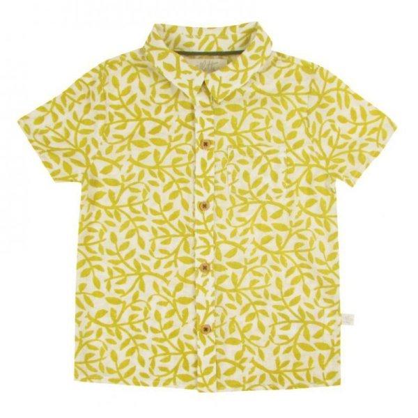 画像1: マスタードリーフシャツ (1)