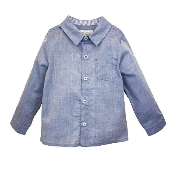 画像1: シャンブレーシャツ (1)